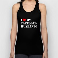 Tattooed Husband Unisex Tank Top