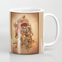 final fantasy Mugs featuring Final Fantasy IX by Dice