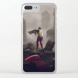 Shotaro Kaneda Clear iPhone Case