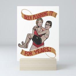 Be Planning It for Years Sandlot Mini Art Print