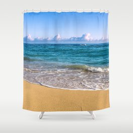Morning on Maui's North Shore Shower Curtain