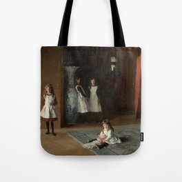 The Daughters of Edward Darley Boit by John Singer Sargent (1882) Tote Bag