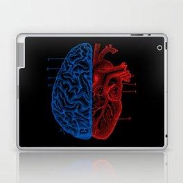 Heart and Brain Laptop & iPad Skin