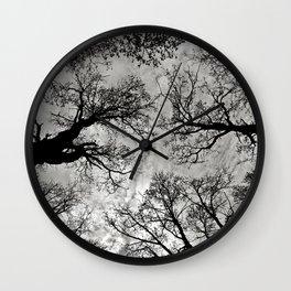 Meditative Power of Trees Wall Clock