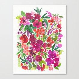 Tropical Flora Canvas Print