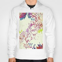 world maps Hoodies featuring Maps by MonsterBrown