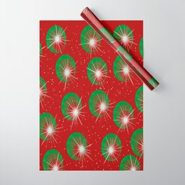 Sparkly Christmas Balls Wrapping Paper