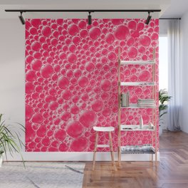 Champagne Bubbles Collection: #5 – Candy Apple Red Wall Mural