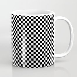 Simple checkerboard background Coffee Mug