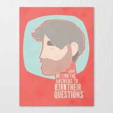 Questions Canvas Print