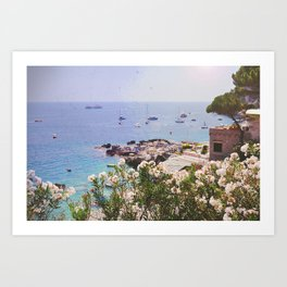 Italian Holiday Art Print
