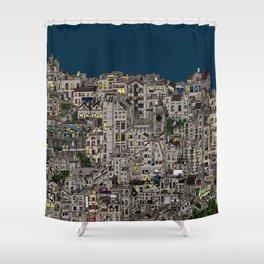 London Favela Shower Curtain