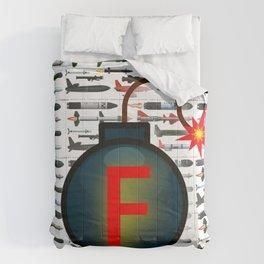 F Bomb Comforters