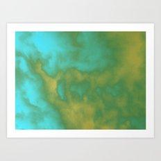 Beyond the Mist Art Print