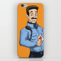 oitnb iPhone & iPod Skins featuring Daya, Bennet, & Pornstache OITNB by StephDere