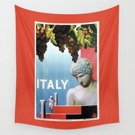 Travel to Italy in 1935 Wall Tapestry