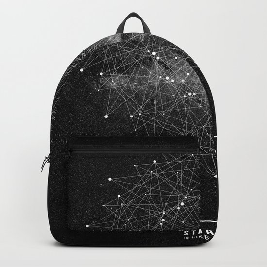 STARGAZING IS LIKE TIME TRAVEL Backpack