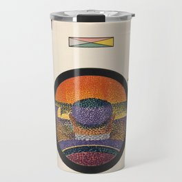 Application of Charles Henry's Chromatic Circle Travel Mug
