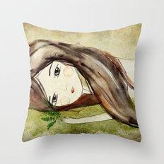 Humus Throw Pillow