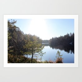 Lake II Art Print