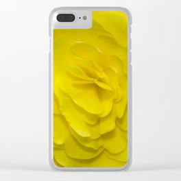 Sunshine and Ruffles Clear iPhone Case