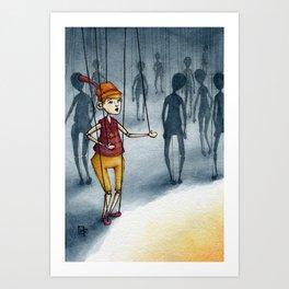Marionette Art Print