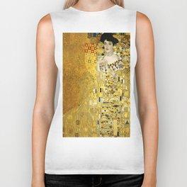 "Gustav Klimt ""Portrait of Adela Bloch-Bauer I"" Biker Tank"