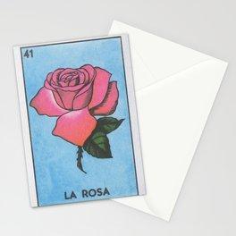 La Rosa Loteria Stationery Cards