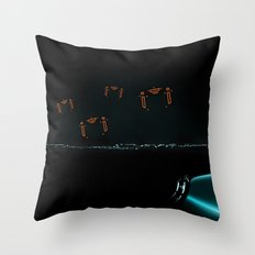 TRON RECOGNIZERS Throw Pillow