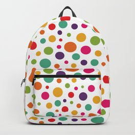 Jolly Colorful Dots Backpack