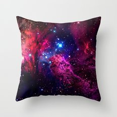 Galaxy! Throw Pillow