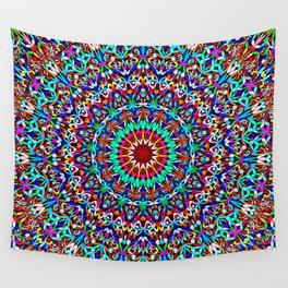 Colorful Life Garden Mandala Wall Tapestry