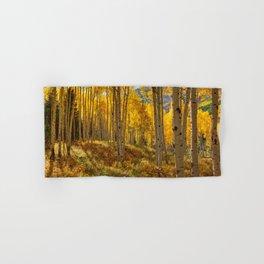 Autumn Aspen Forest Aspen Colorado Hand & Bath Towel