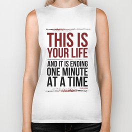Fight Club - This is Your Life... Biker Tank