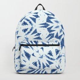 Snowflake Denim & White Backpack
