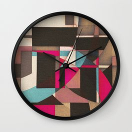 Mooring  in the Port Wall Clock