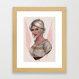 Cirilla Fiona Elen Riannon Framed Art Print