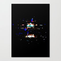 Opening Round Canvas Print