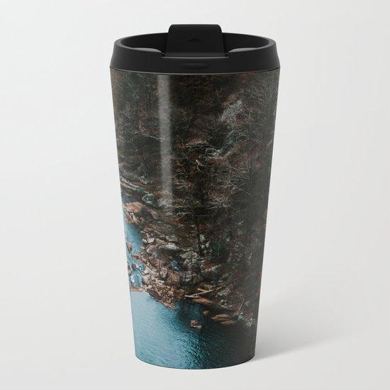 Blue Creek #landscape #society6 Metal Travel Mug