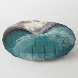 Maligne lake Floor Pillow