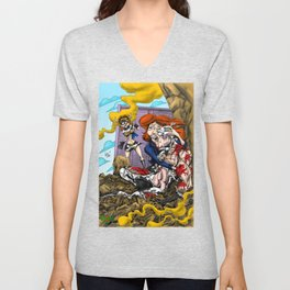 The Death of Cowman  Unisex V-Neck