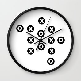 xs and os Wall Clock