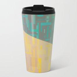 Quadrilateral Fade Travel Mug