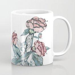 Botanical vector vintage illustration in retro style for design Coffee Mug