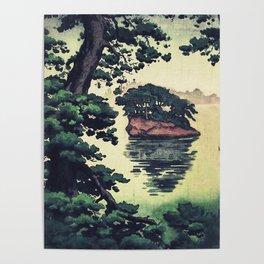 Autumn Rain in Yama Poster
