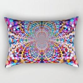 Dance of the lights Rectangular Pillow