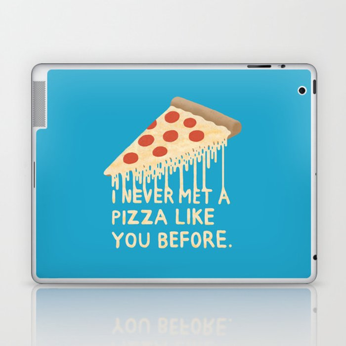 Sweet Pizza Laptop & iPad Skin