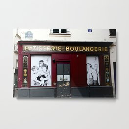 Patisserie Boulangerie Metal Print