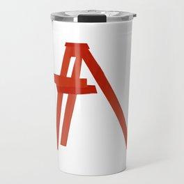 Red ladder billie Travel Mug