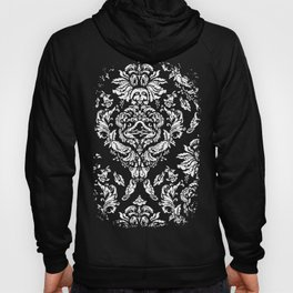 SLOTH FLORAL DAMASK Hoody